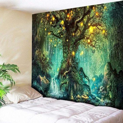 Baum Wandbehang
